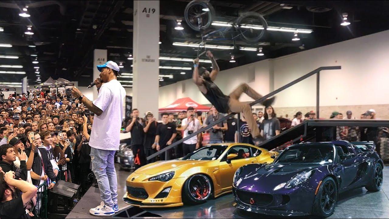 2ae9ed5d7e5a BMX VS INSANE CAR SHOW    TUNER EVO ft Xavier Wulf! - YouTube