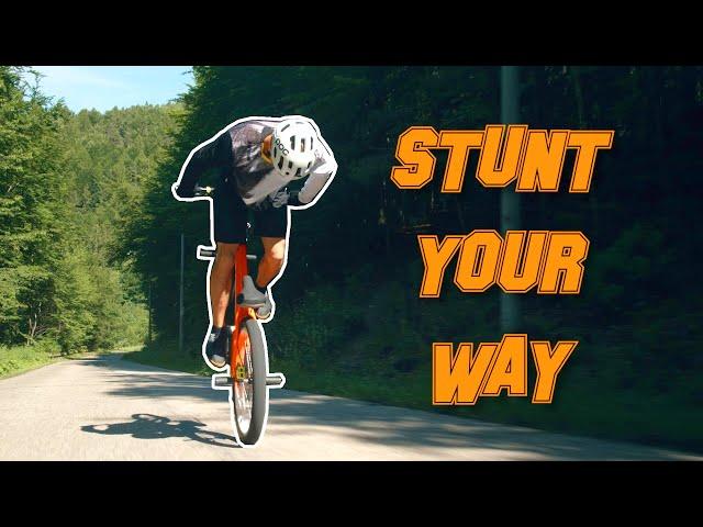 Stunt Your Way - Kamil Kobędzowski
