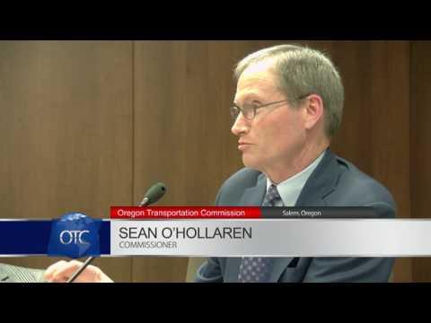 Oregon Transportation Commission Meeting 2-16-2017
