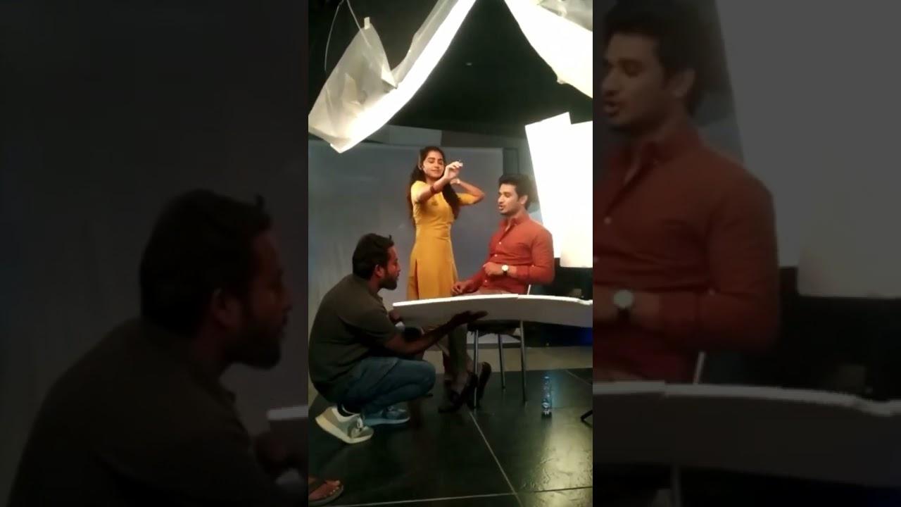 Anupama Parameswram behind scenes #18pages movie