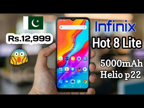 Infinix Hot 8 Lite (Disappointed 😟 ) Something is Missing !!!