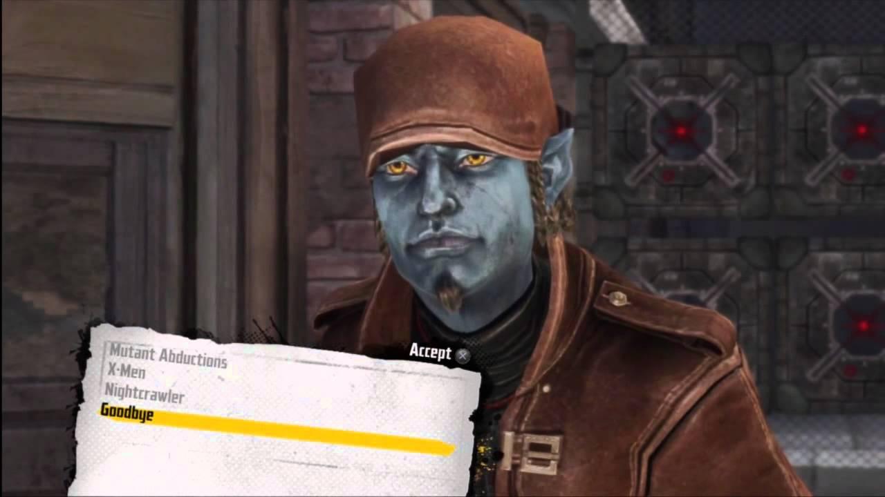 X-Men: Destiny - Nightcrawler and Mystique Gameplay Video ...