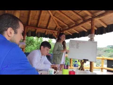 Learn Spanish And Surfing In Montañita, Ecuador: In Class