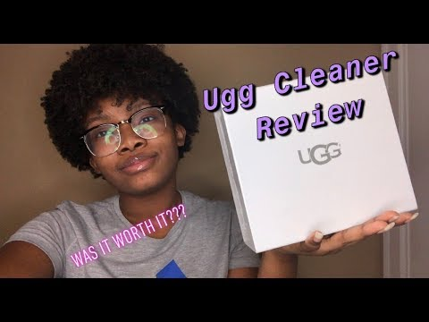 Ugg Cleaner Review ❤️ | Did It Work | Last Video Of 2018