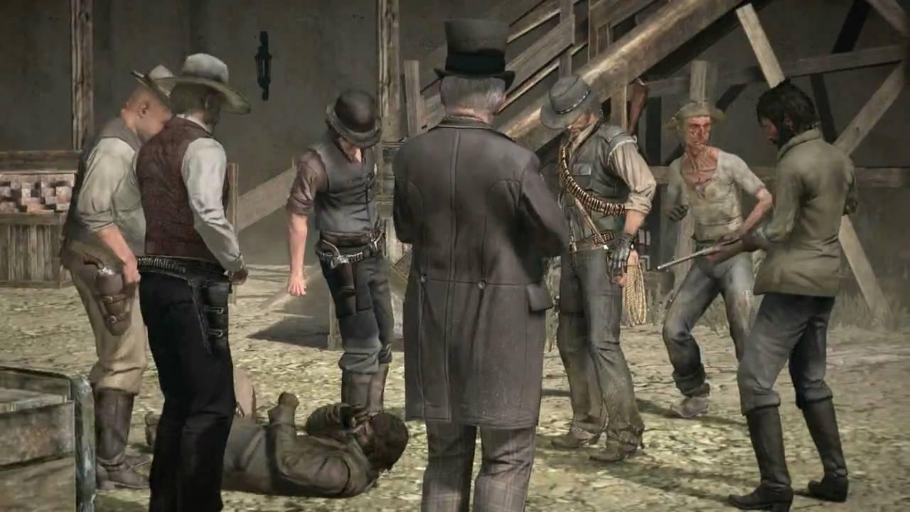 Red Dead Redemption - Character-Clip 1: Das Gesetz