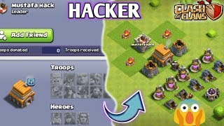 PROFF! HACKER IN CLASH OF CLANS 😱 || EVERYTHING WRONG WITH THIS PLAYER 🔥|| MUST WATCH ✔