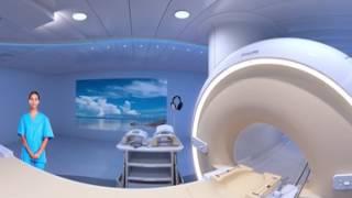 Priebeh vyšetrenia magnetickou rezonanciou pomocou virtuálnej reality