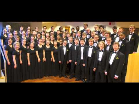 Goodnight Moon - Eric Whitacre.  The College of Wooster Chorus