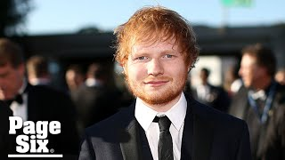 What Ed Sheeran has to say about US award shows   Page Six Celebrity News