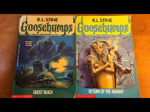 Ghost Beach And Return Of The Mummy Goosebumps Review A Thon Youtube