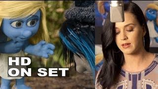 The Smurfs 2: Voice Recording Sessions / Split Screen