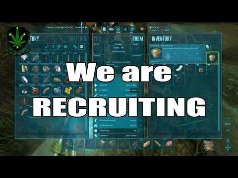 We are recruiting...