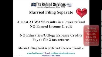 Should I file as Married Filing Separate or Head Of Household?