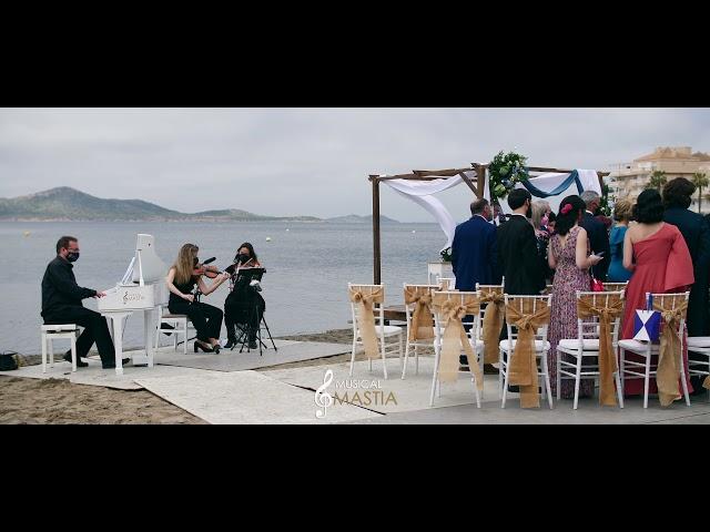Ceremonia en la Playa   🔆 Bodas en La Manga   🎼 Musica para bodas   Musical Mastia