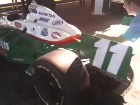 Llegada Indy Car Tony Kanaan