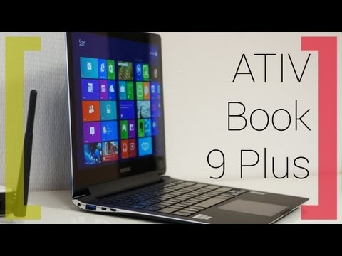 Обзор Samsung Ativ Book 9 Plus