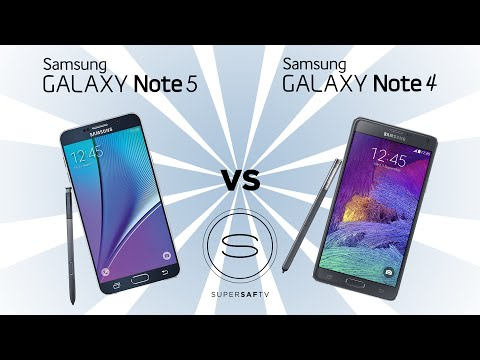 Samsung Galaxy Note 5 vs Samsung Galaxy Note 4