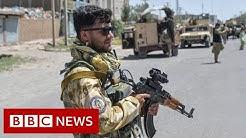 Afghanistan Taliban continue attacks on three major cities - BBC News