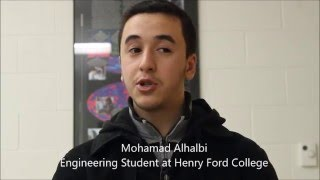 Quad-copter drone Built by Engineering Club at Henry Ford College
