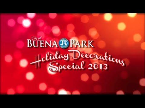 City of Buena Park Holiday Decorations 2013