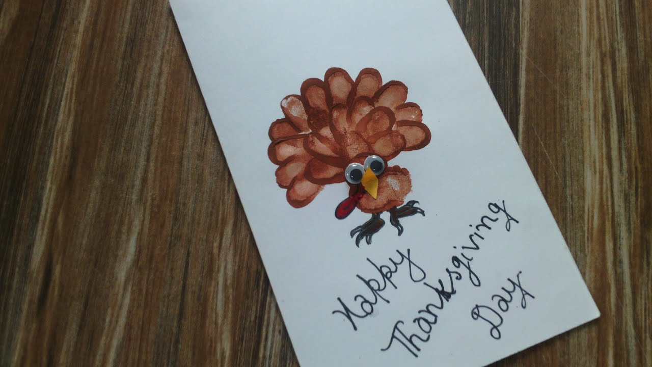thank you card ideas on this thanksgiving day thank you card