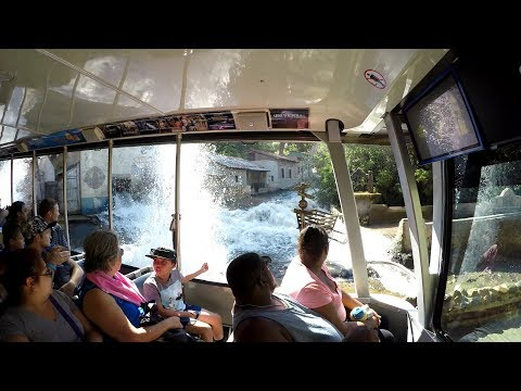 Universal Studios Tram Tour Full Ride (4K)