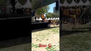 OCTOPIZZO'S performance opened by RAW-G