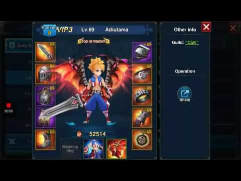 Saga Go  Skill Lv Upgrade to Skill Killer Of Warrior