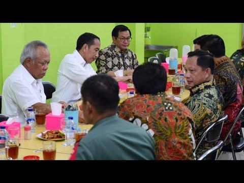 Saat Presiden Jokowi