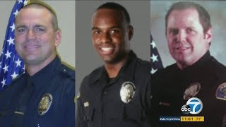 Three Pomona police officers surrendered to face federal charges on suspicion of one officer violating a minor's civil rights during a beating at the L.A. County ...