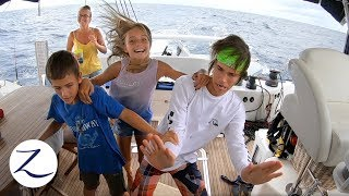a-day-in-the-life-of-a-sailing-family-at-sea-homeschool-night-watch-evading-pirates-ep-81
