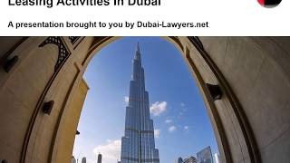 Open a Business for Rental and Leasing Activities in Dubai