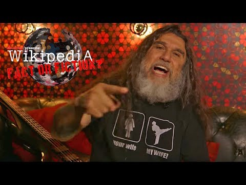 Slayer's Tom Araya - Wikipedia: Fact or Fiction?