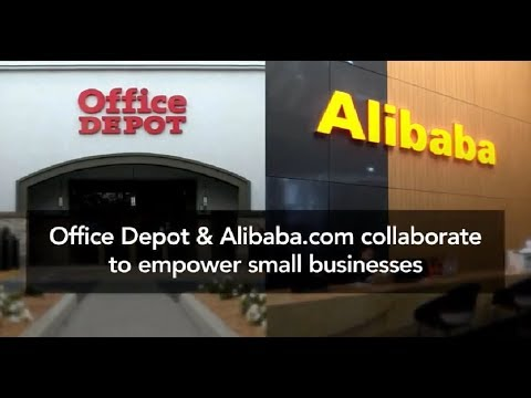 Grow Your Small To Medium Business & Save Big With Office Depot & Alibaba