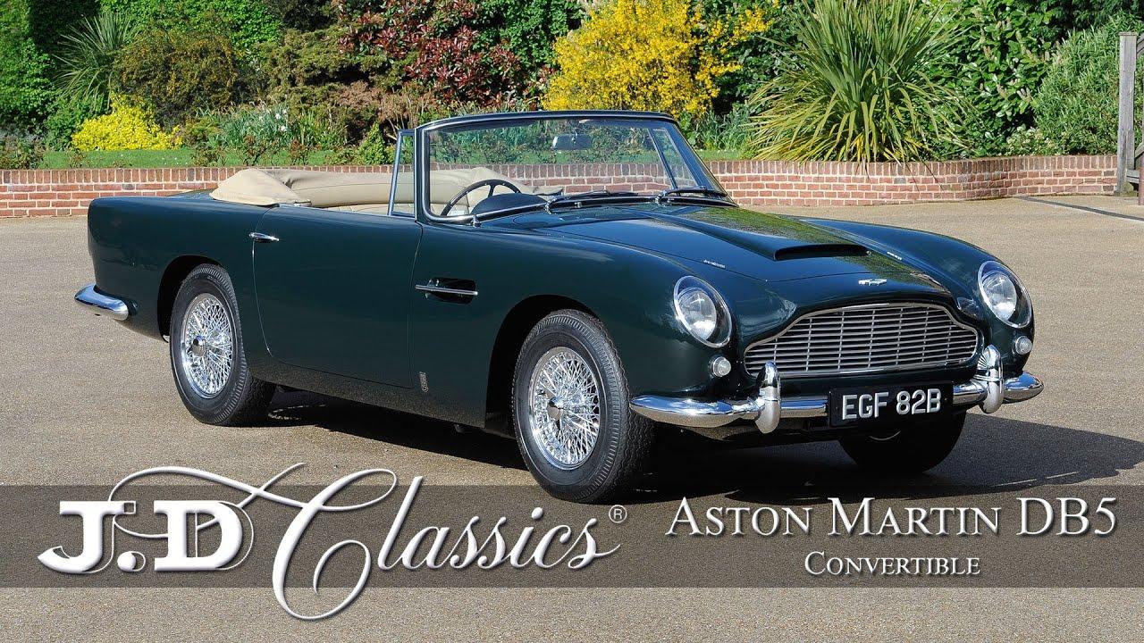 Aston Martin Db5 Convertible J D Classics Youtube
