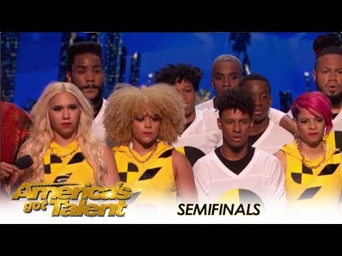 Da Republik: Dominican Dance Group SLAY The Seminfinals | America's Got Talent 2018