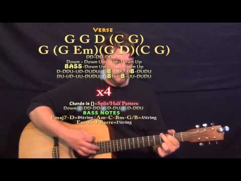 I'd Love to Lay You Down (Barrett Baber) Guitar Lesson Chord Chart