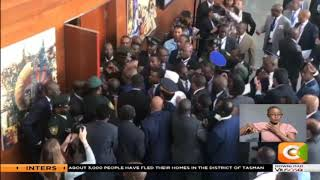 Drama as presidents' aides locked out of AU summit  in Ethiopia