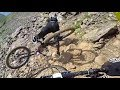 Megavalanche 2017 (stabilized) counting dead bikes. Crashes and nice bits. Team WoIP