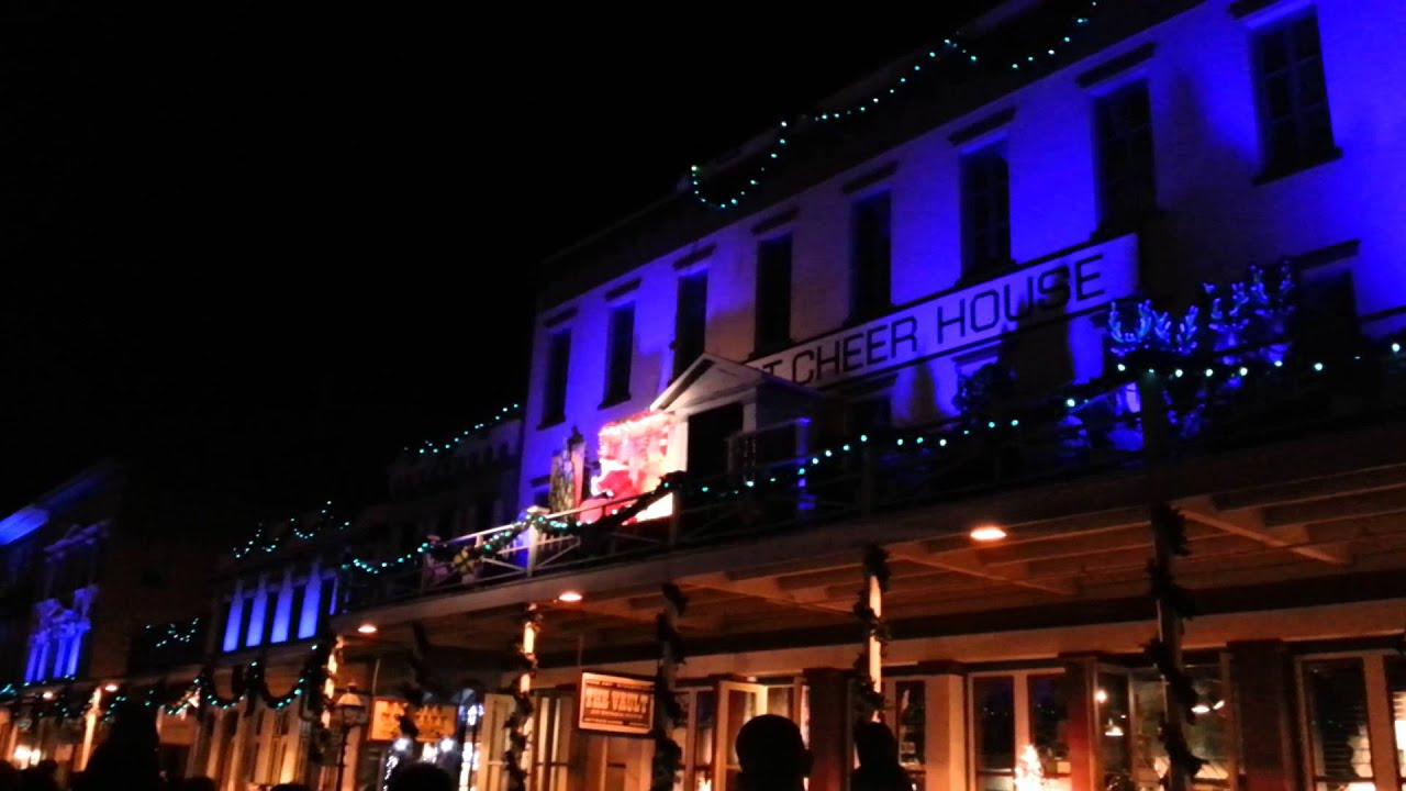 Theater of Lights - Old Sacramento - YouTube
