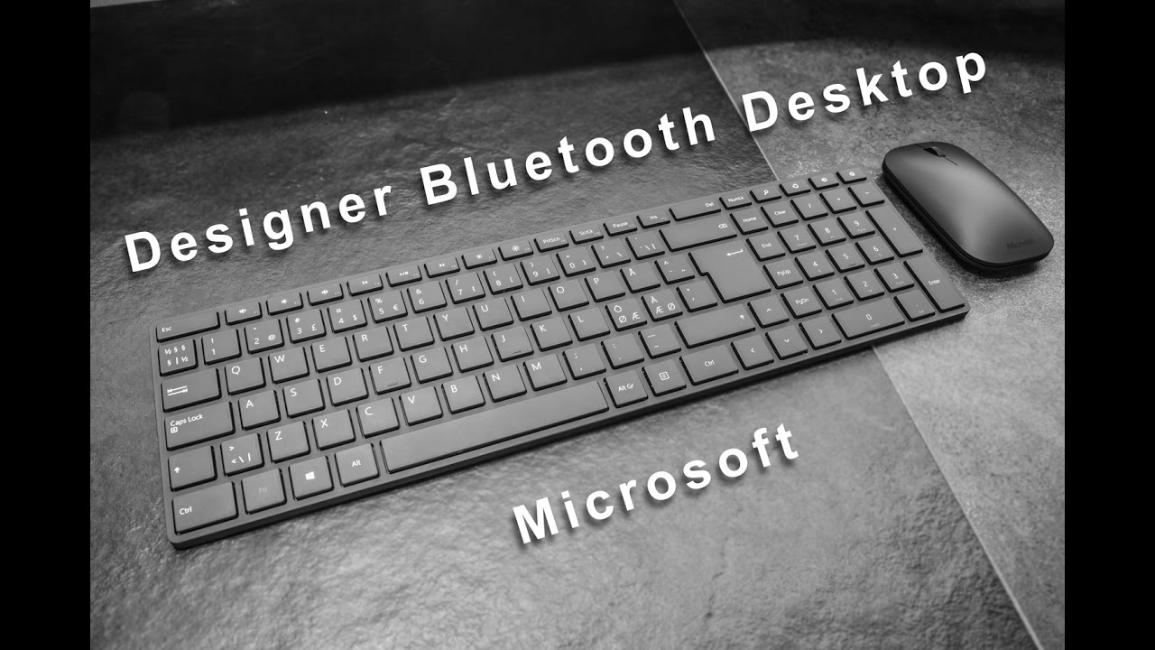 f5eb31f3518 Designer Bluetooth Desktop - Review - YouTube