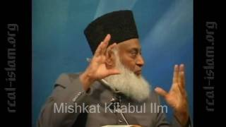 Dr. Israr Ahmad admits that as per Hadith Mullahs of our time are WORST CREATURES