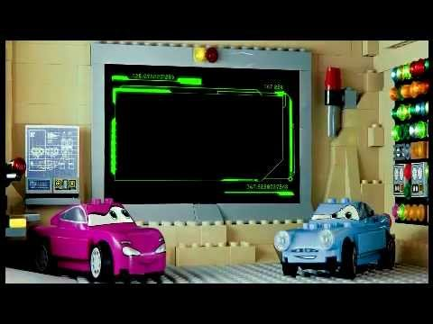 2011 Lego Cars 2 The Great Race Case Youtube