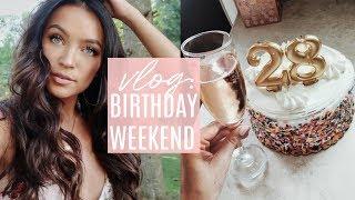 VLOG: BIRTHDAY WEEKEND CELEBRATION 🎉 ! Stephanie Ledda