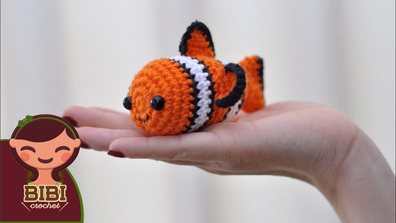 Amigurumi | Nemo en Crochet, Tsum Tsum | Bibi Crochet - YouTube
