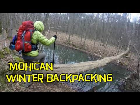 March Backpacking - Mohican State Forest