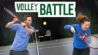 Tennis Volley BATTLE! - Ultimate Training Game For Net Success