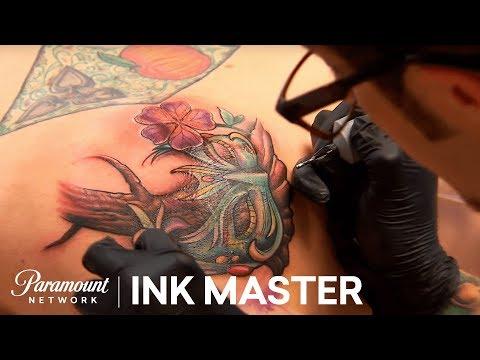 Elimination Tattoo: Venetian Masks - Ink Master, Season 7