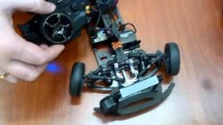 Пропорциональное управление поворотом колёс радиоуправляемой модели автомобиля 1:10 - Видео №2