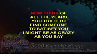 You May Be Right - Billy Joel (Lyrics Karaoke) [ goodkaraokesongs.com ]